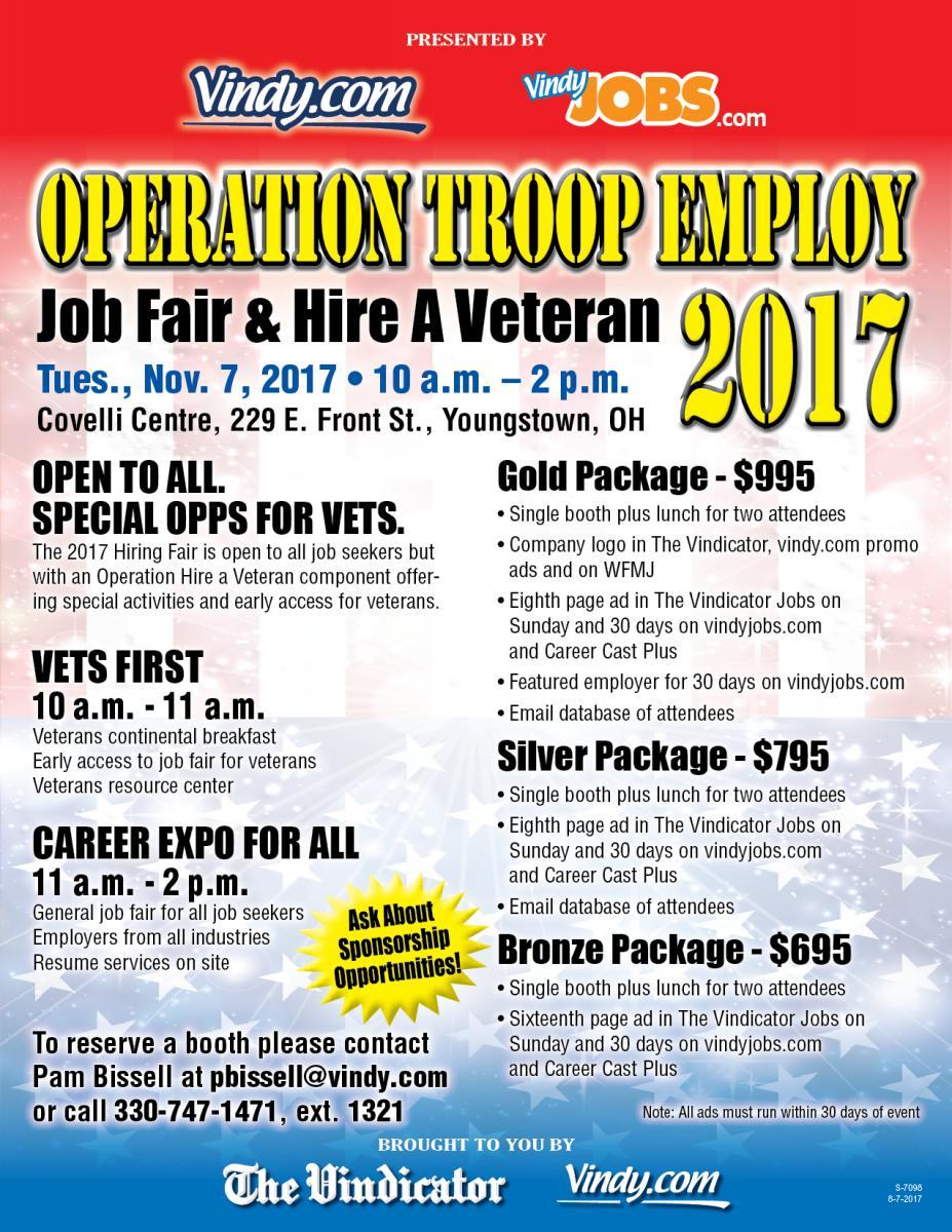 Operation Troop Employ 2017 flyer