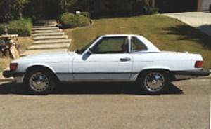 1989, Mercedes, 560 SL