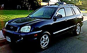 2004, Hyundai, Santa Fe
