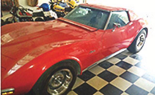 1970, Chevrolet, Corvette