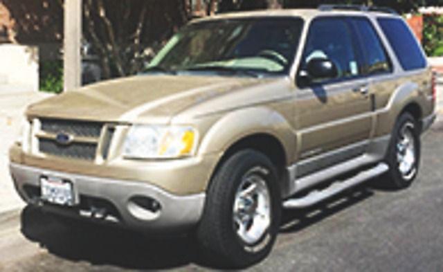 2001, Ford, Explorer Sport